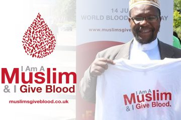 Muslims Give Blood