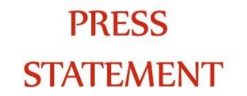 Press Statement – New Zealand Terror Attack March 15th 2019